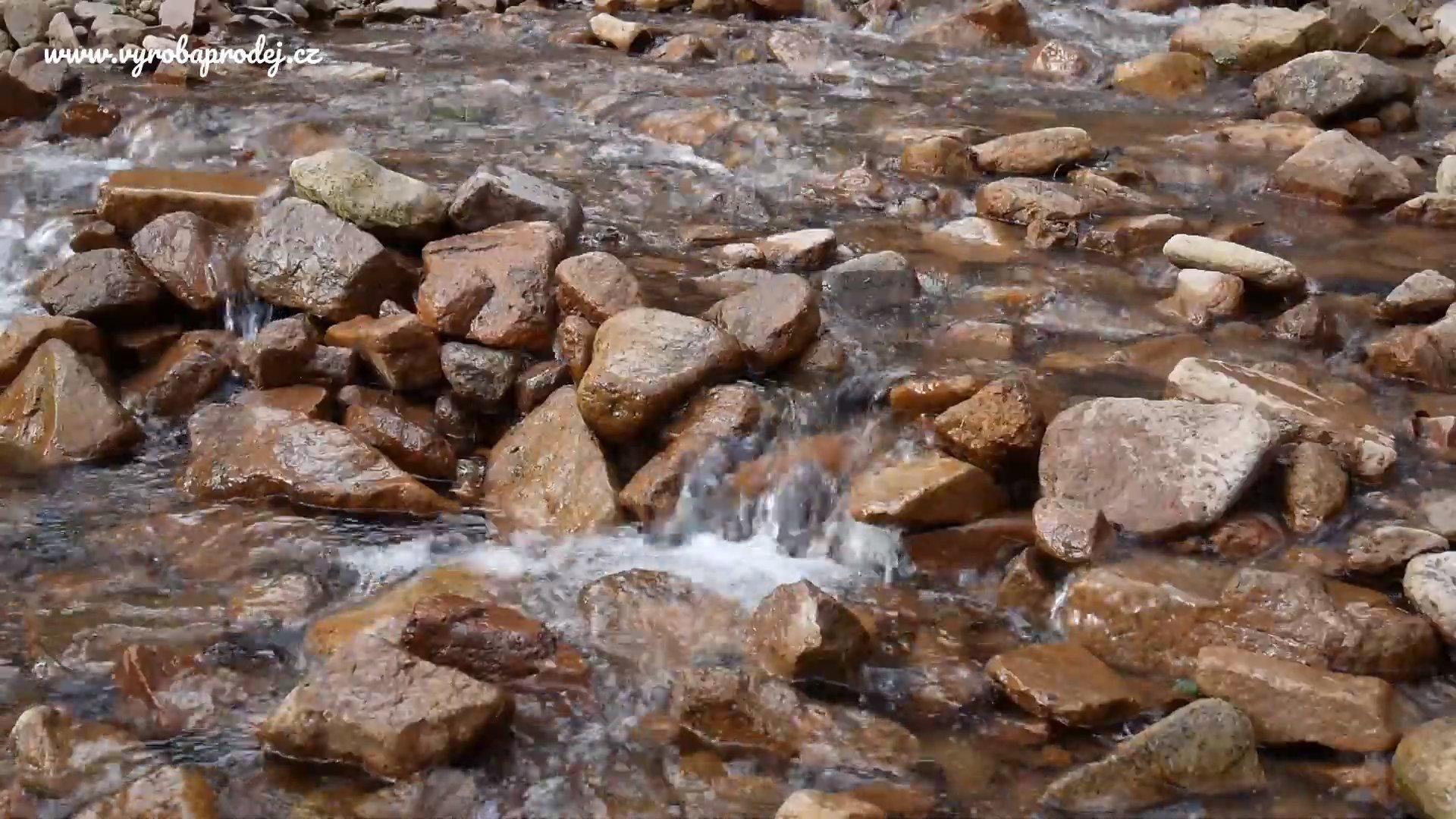Relaxace v přírodě - Potok v Dubí